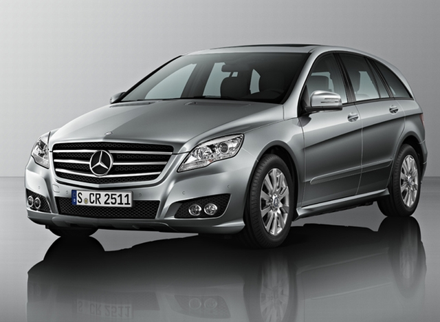Mercedes benz unveils new r class in india for R h mercedes benz