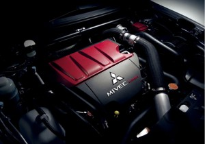 Lancer Evolution-X engine
