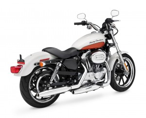 2011, Sportster, XL883L, SuperLow, angle rear