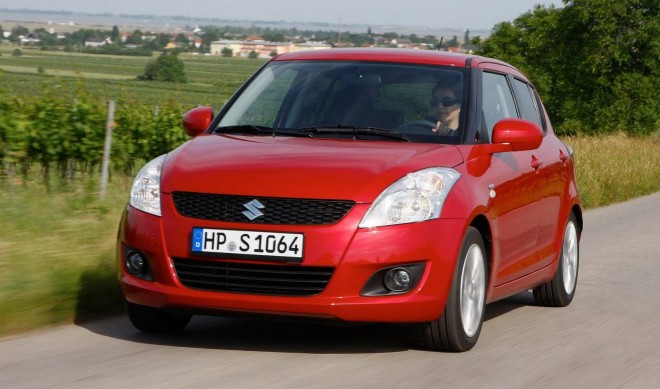 2011 New Maruti Swift front