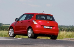 2011 New Maruti Swift rear
