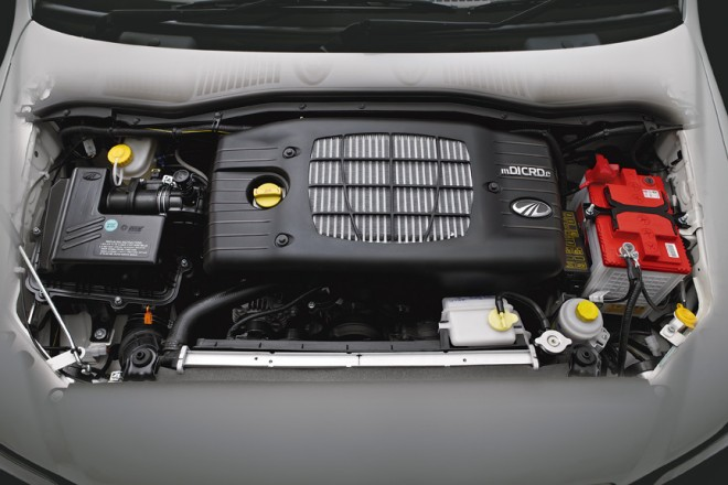 Mahindra Genio- Engine