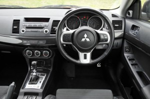 Lancer Evolution-X interior