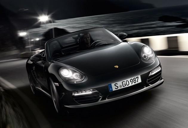 2012 Porsche Boxster S Black Edition Front