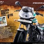 New Bajaj Discover 100 Front
