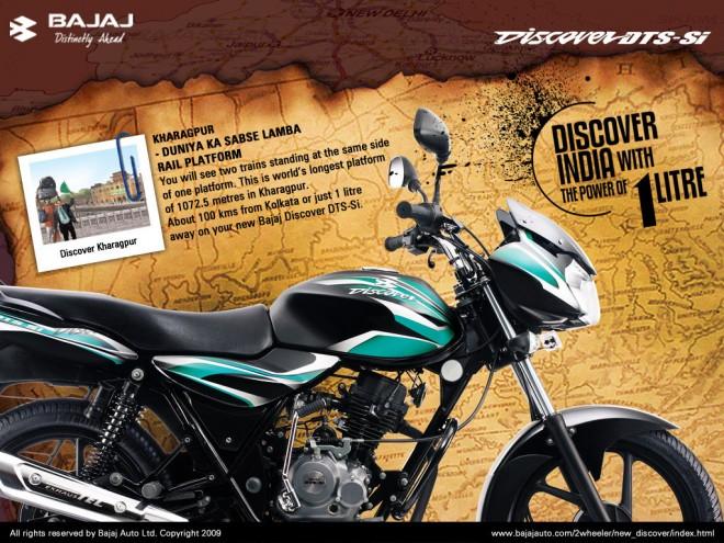 New Bajaj Discover 100