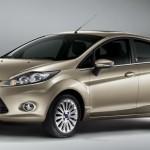 New 2011 Fiesta Sedan Front