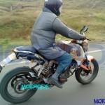 KTM Duke being tested 4