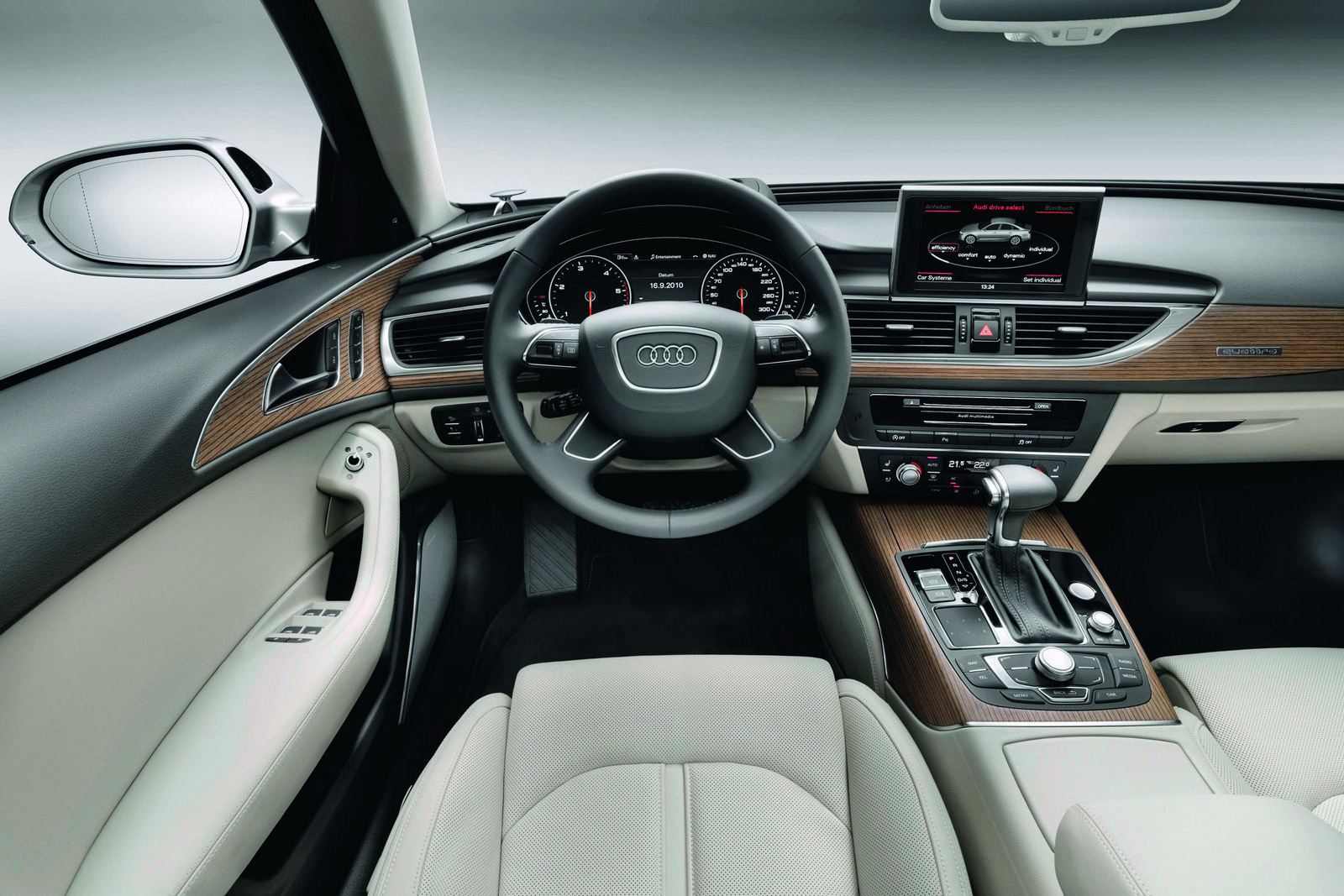 Audi A Interior BharathAutos Automobile News Updates - Audi a6 interior