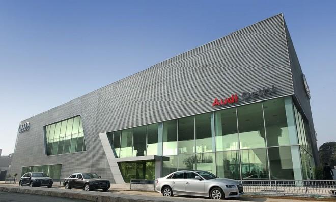 Audi-Delhi-Showroom