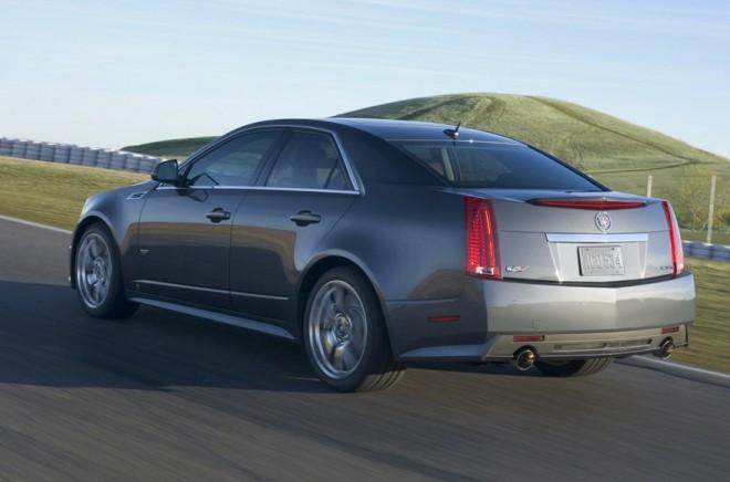 Cadillac CTS-V Sedan Rear