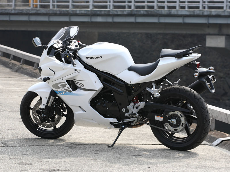 Garware Motors Launch Of Hyosung Gt650r And St7 Super Bikes In India