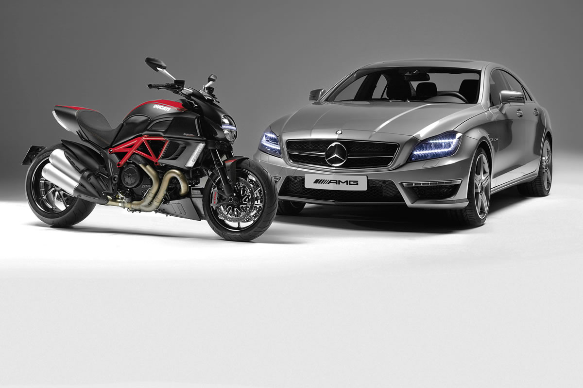 Mercedes Amg Partner With Italian Motorcycle Manufacturer