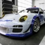 Porsche celebrates millionth Facebook fan special 911 GT3 R front-angle
