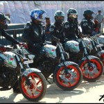 Pulsar Sponsors Motorcycle Stunt Riding Team Ghost Ryderz 1