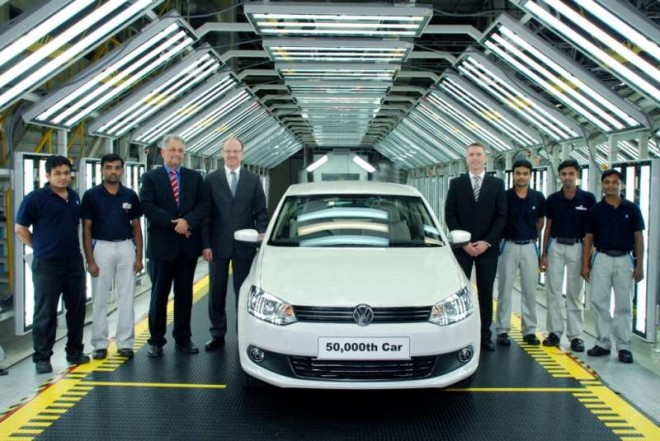 VW-50000-car-in-India