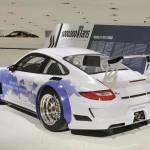 Porsche celebrates millionth Facebook fan special 911 GT3 R Rear