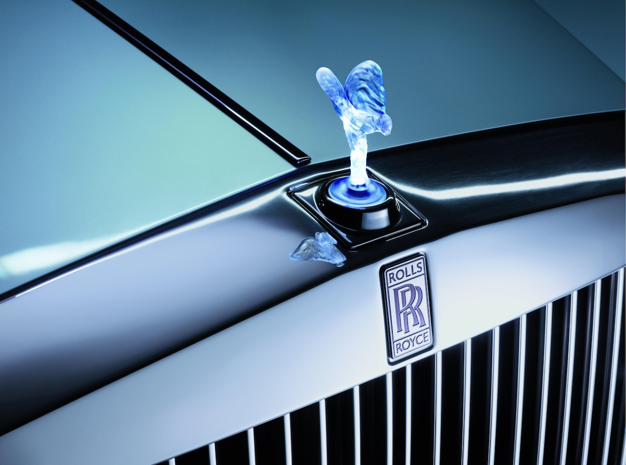 Rolls-Royce 102EX electric Phantom 1