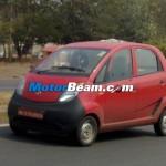 Spied-Tata Nano Diesel Dicor Front