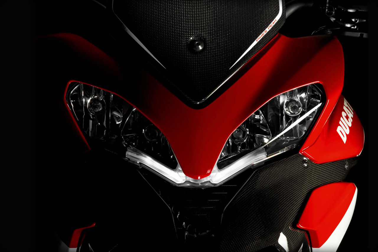 Ducati Unveils The Multistrada 1200 S Pikes Peak Special