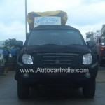 AutoCarIndia spied Force Motors Explorer SUV