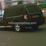 IndianAutosBlog spied Force Motors Explorer SUV