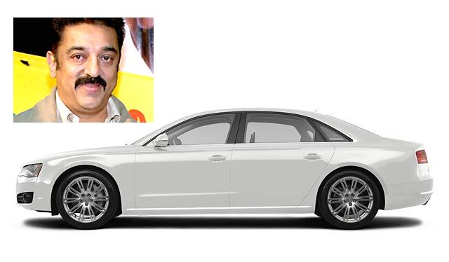 Kamal Hasan Purchased Latest 'Audi A8 L' Car