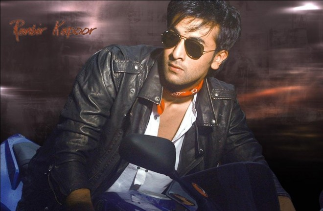 Ranbir On Bike