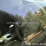 Spied - Renault Fluence Interiors-2