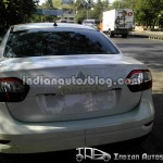Spied - Renault Fluence Rear-1