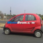 Spied-Tata Nano Diesel Dicor SideView