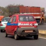 Spied-Tata Nano Diesel Dicor Rear
