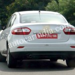 Spied - Renault Fluence Rear-2