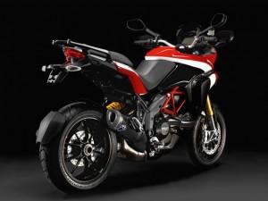 Ducati Multistrada 1200S Pikes Peak Special Edition Rear