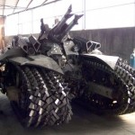 Megatron Tank Crafted From Scrap Metal 003