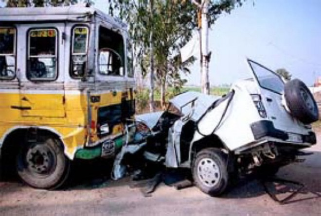Indian road accident