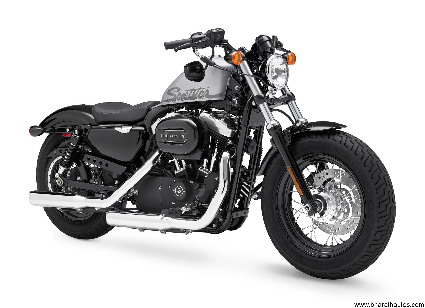 Harley Rolls Forty Eight In India