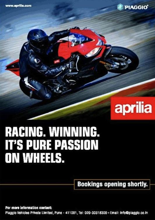 Aprilia_India_Bookings