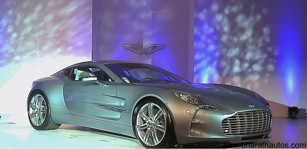 Aston Martin Indian launch