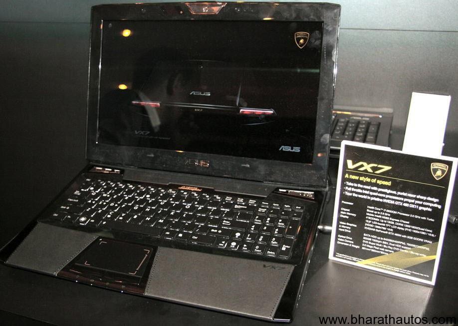 2011 Asus Lamborghini Murcielago Vx7 Laptop