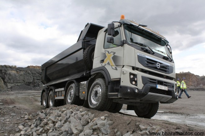 Volvo FMX4 Truck