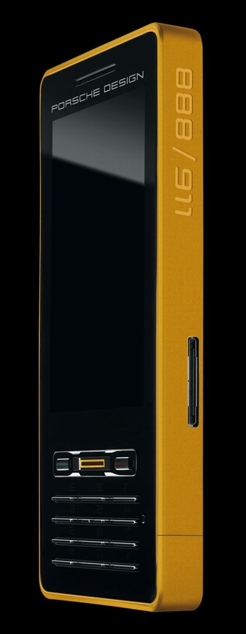 Porsche Design P'9522 Gold Limited Edition Phone 002