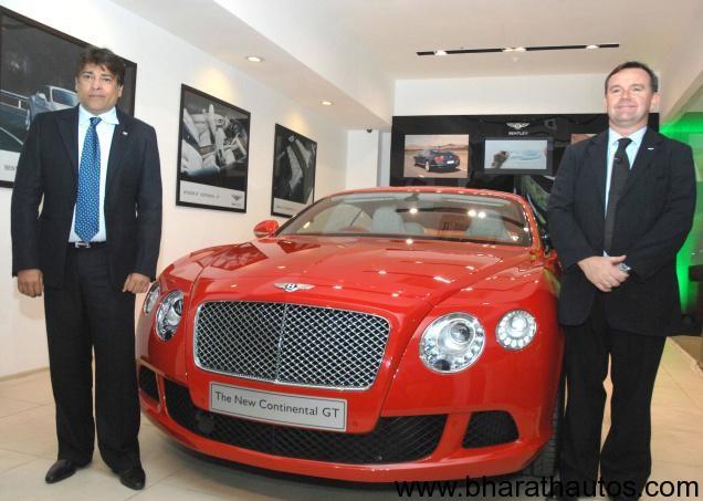 Bentley Continental GT India