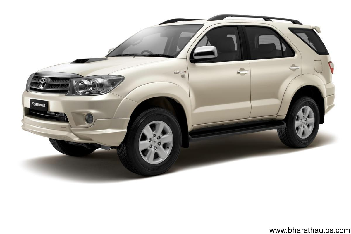 2012 Toyota Fortuner on the Works