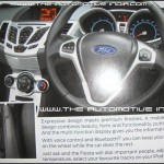The All New Ford Fiesta Brochure 3rd page