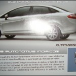 The All New Ford Fiesta Brochure 4th page