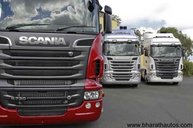 Scania Swedish truck