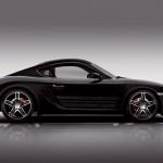Porsche Cayman S Black Edition - SideView