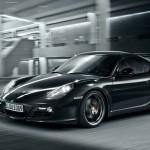 Porsche Cayman S Black Edition - Front