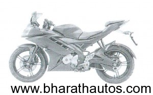 2011 Yamaha R15 - SideView